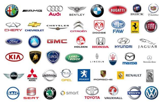 Danh sách và logo các hãng xe Ô TÔ lớn nhất trên thế giới